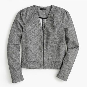 J. Crew Women's Boucle Knit Blazer In Gray